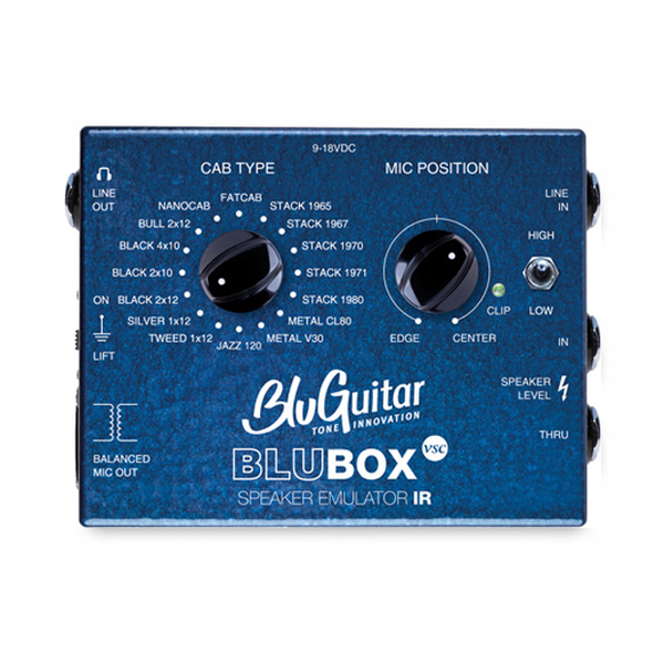 BluGuitar BluBOX Impulse Response Speaker Emulator Amp