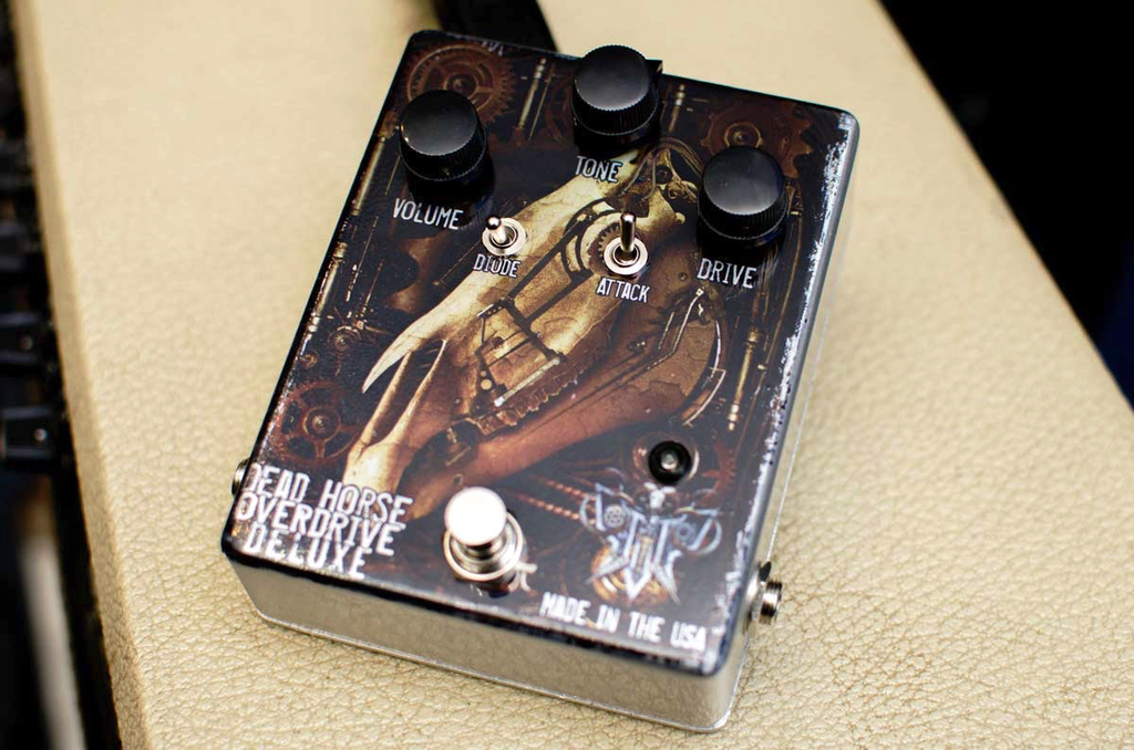 Pro Tone Dead Horse Deluxe Overdrive Pedal - Bananas at Large
