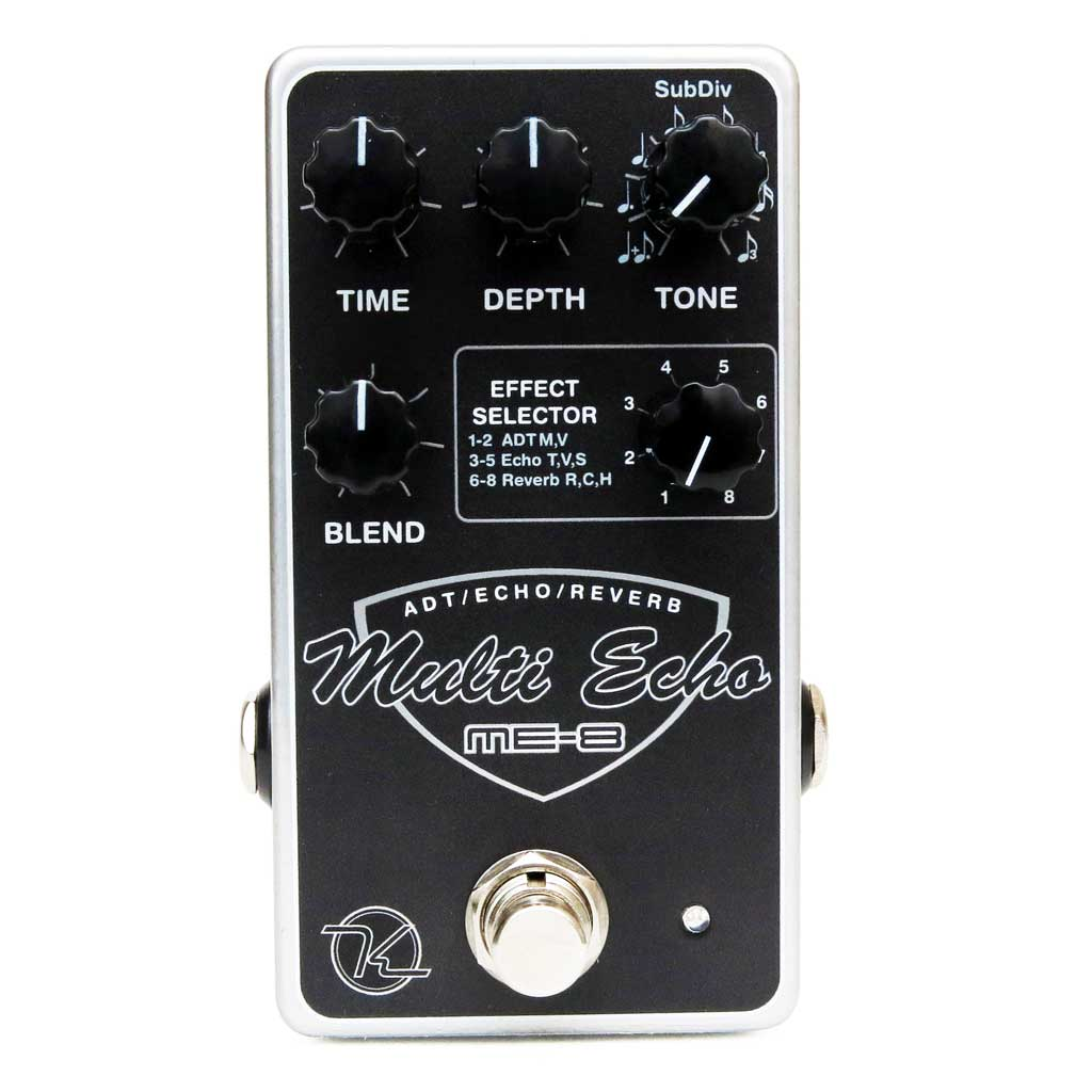 Keeley ME-8 Multi-Echo Effects Pedal - Bananas At Large®