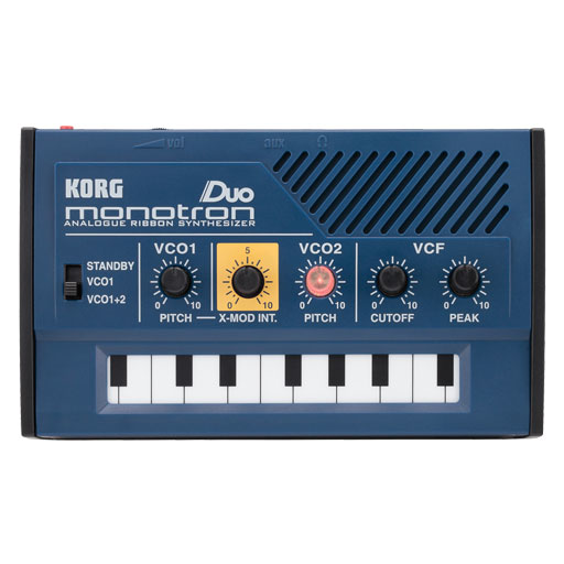 Korg Monotron Duo Analogue Ribbon Synthesizer - Bananas At Large®