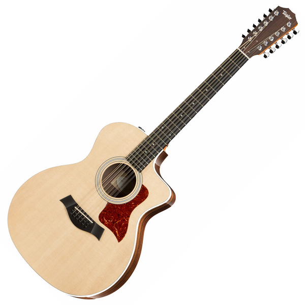 Taylor 254ce-DLX Grand Auditorium 12 String Acoustic Electric Guitar with ES2 - Bananas at Large