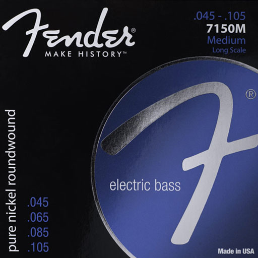 Fender 7150M Pure Nickel Bass Strings - Bananas At Large®
