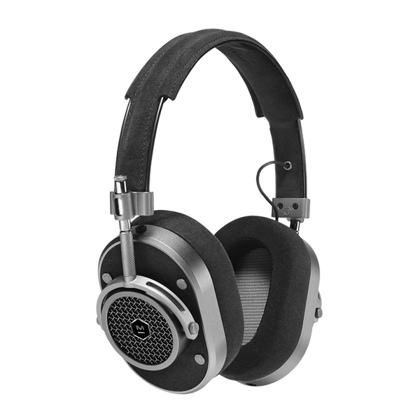 Master & Dynamic MH40G1A Over Ear Headphones - Gunmetal/Black Alcantara - Bananas at Large - 1