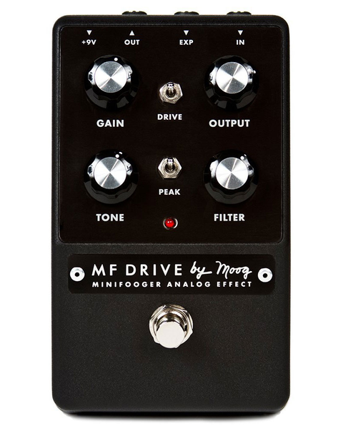 Moog MiniFooger MF Drive Filtered Overdrive Pedal - Bananas at Large - 1