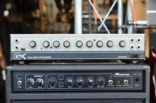 Gallien-Krueger 200RG Guitar Amplifier Head (Pre-Owned) (Jorge Santana Collection) - Bananas at Large - 1