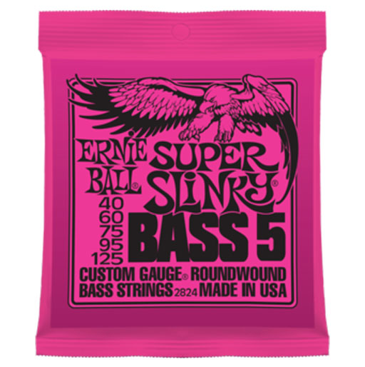 Ernie Ball Super Slinky 5-String Bass Nickel Wound - Bananas At Large®
