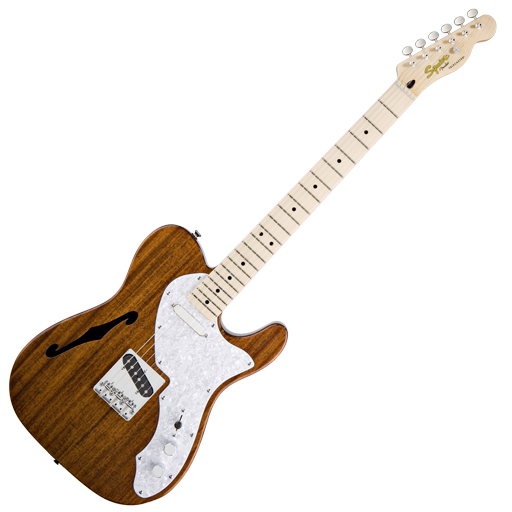 Squier Classic Vibe Telecaster Thinline Electric Guitar Natural - Bananas at Large