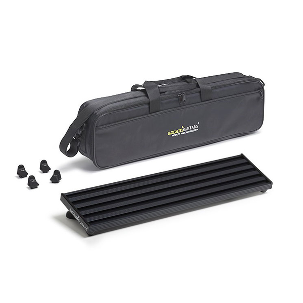 Aclam Guitars Smart Track S1 Pedalboard with Softcase - Black - Bananas At Large®
