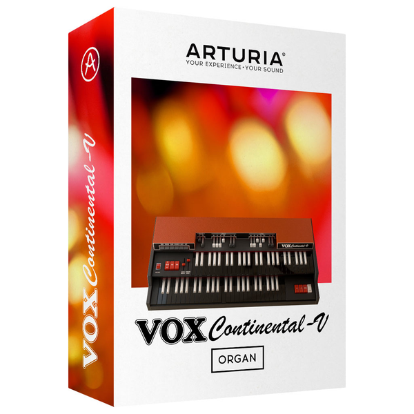 Arturia Vox Continental V2 License Organ [Download] - Bananas At Large®