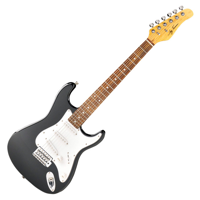 Jay Turser JT-30-BK 30 Series 3/4 Size Electric Guitar - Black - Bananas At Large®