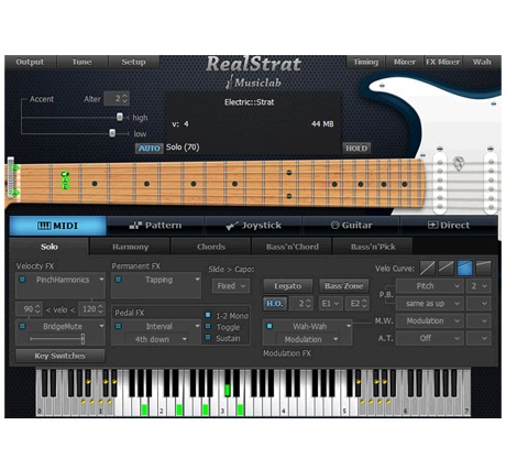 Musiclab RealStrat Electric Rhythm Guitar Accompaniment [Download]