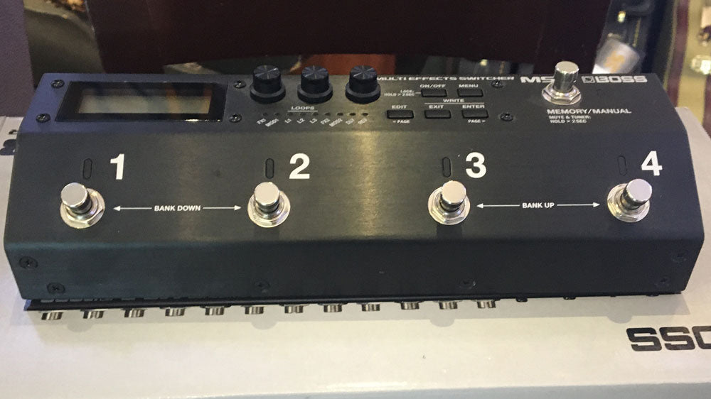 Boss MS-3 Multifxswitcher (Pre-Owned)