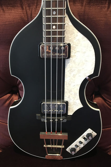 Hofner HCT-500/1 Contemporary Series Violin Bass - Black (Pre-Owned)