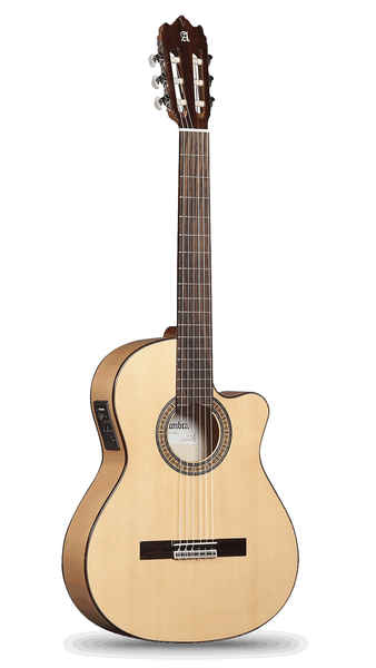 Alhambra 3 F CT Cutaway Acoustic Electric Guitar - Bananas at Large - 1