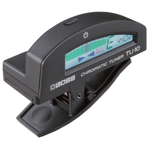 Boss TU-10 Clip-On Chromatic Tuner Black - Bananas at Large