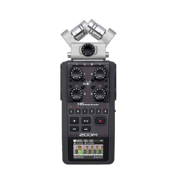 Zoom H6 Handy Recorder - Bananas at Large - 1