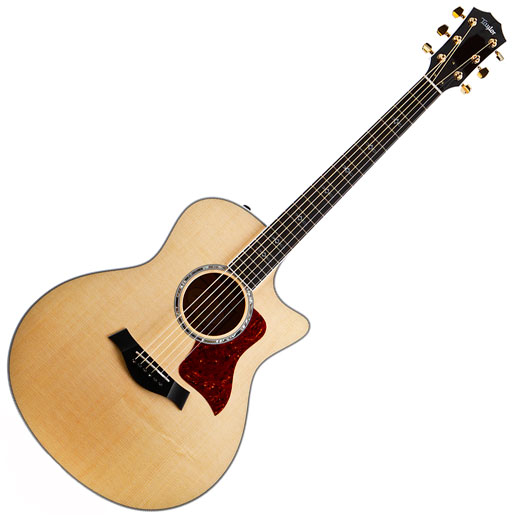 Taylor 616ce Grand Symphony Acoustic-Electric Guitar, ES2 - Bananas at Large