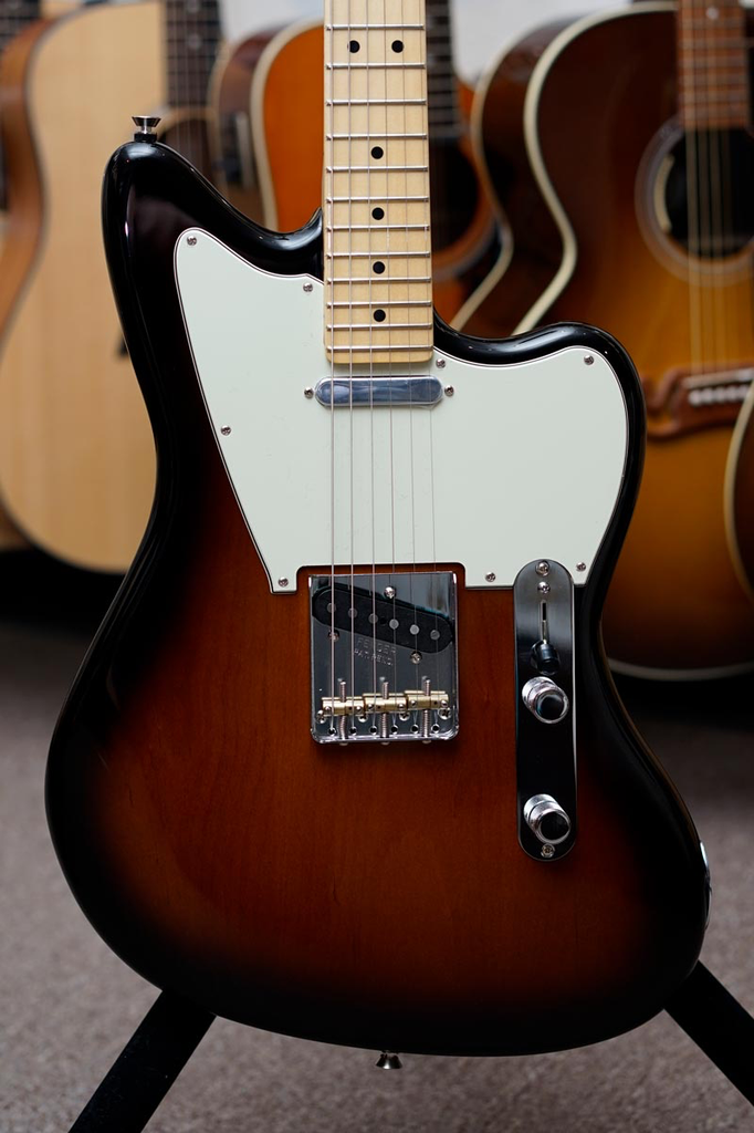 Fender Limited Edition American Standard Offset Telecaster with Maple Fingerboard - 2 Color Sunburst - Bananas At Large®