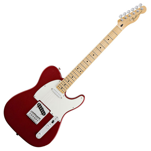 Fender Standard Telecaster®, Maple Fingerboard, Candy Apple Red, No Bag - Bananas At Large®