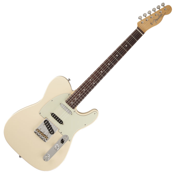 Fender Vintage Hot Rod 60s Telecaster with Rosewood Fingerboard - Olympic White - Bananas At Large®