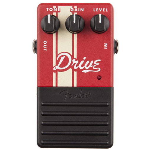 Fender Drive Pedal, Red - Bananas At Large®