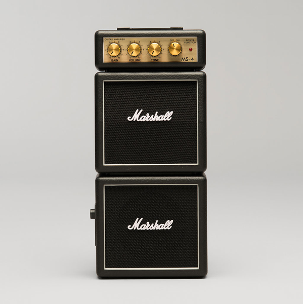 Marshall MS-4 Not-So-Mini Amp - Black - Bananas at Large - 1