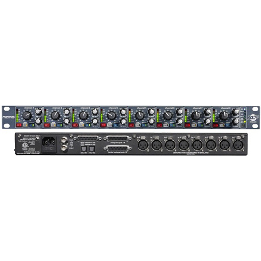 Midas XL48 8 channel 96kHz 24-Bit Digi-log Mic Pre (per unit), 1U Rack Space - Bananas at Large