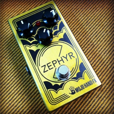 Mojo Hand FX Zephyr 70s style Fuzz/Overdrive Pedal - Bananas at Large