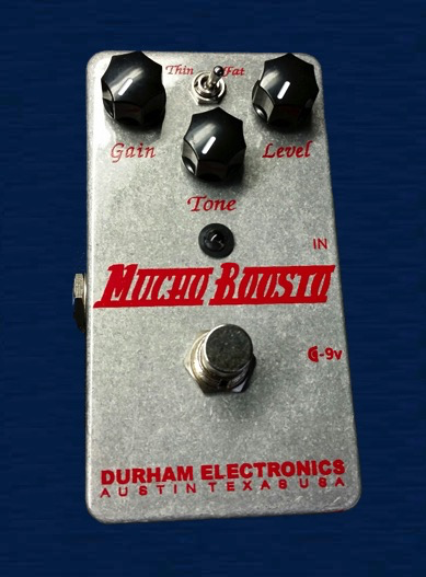 Durham Electronics Mucho Boosto Pedal - Bananas At Large®