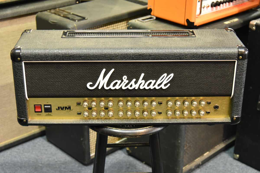 Marshall JVM410H 100W Tube Guitar Amp Head (Neal Schon Private Collection) (Pre-Owned) - Bananas at Large - 1