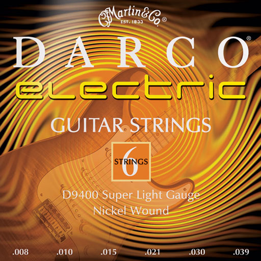 Martin D9400 Darco Electric Strings Super Light - Bananas at Large