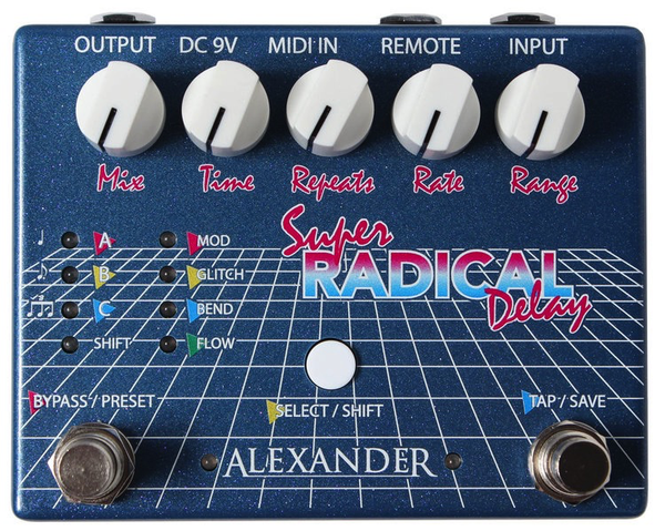 Alexander Pedals Super Radical Delay Pedal - Bananas at Large