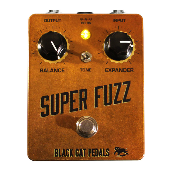 Black Cat Pedals Super Fuzz Pedal - Bananas at Large