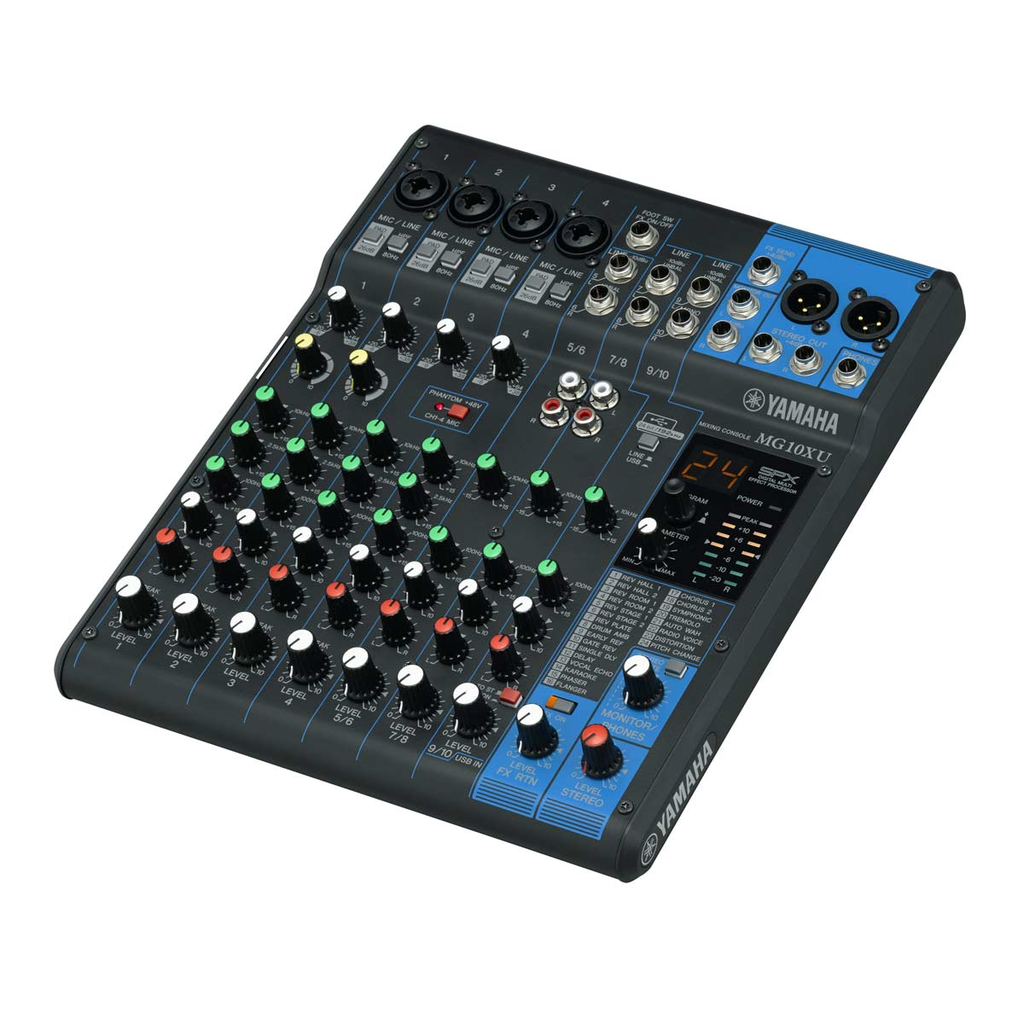Yamaha MG10XU Analog Mixer with USB Output - Bananas at Large