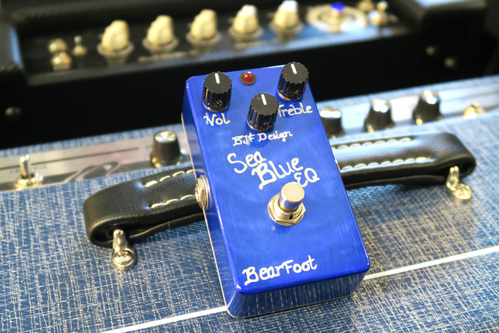 BearFoot BJF Designs Sea Blue EQ Pedal (Pre-Owned) - Bananas At Large®