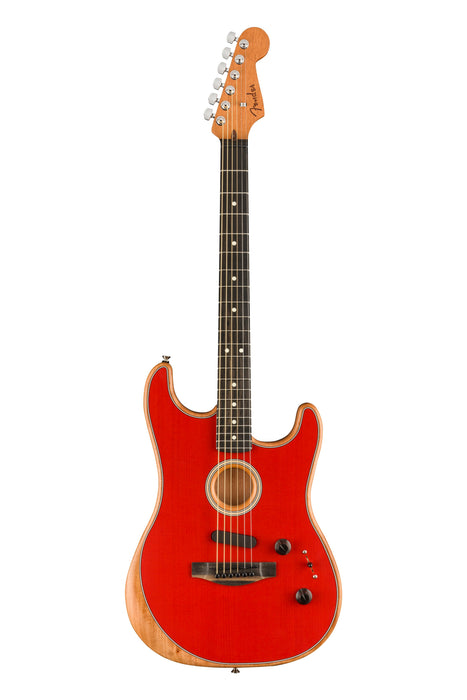 Fender American Acoustasonic Stratocaster - Dakota Red