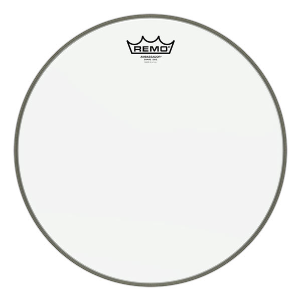 Remo 10 in. Ambassador Hazy Snare Side Drum Head - Bananas at Large - 1