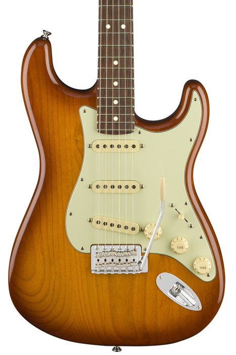 Fender American Performer Stratocaster with Rosewood Fretboard - Honey Burst