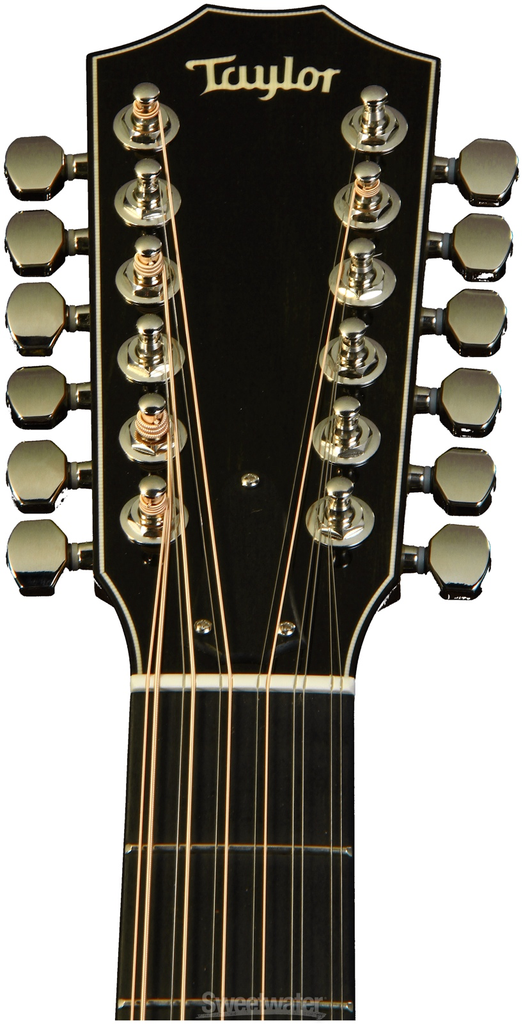 Taylor 656ce 12-String Acoustic Electric Guitar, ES2 - Bananas at Large - 2