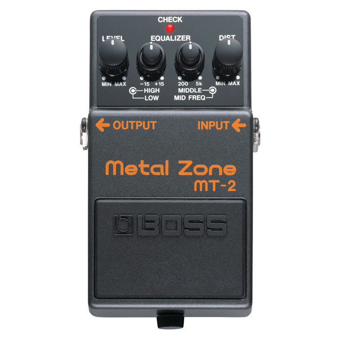 Boss MT-2 Metal Zone Distortion Pedal - Bananas at Large - 1