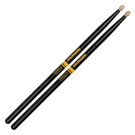 Promark F5BAG Forward 5B ActiveGrip Acorn Tip Drum Sticks - Bananas at Large