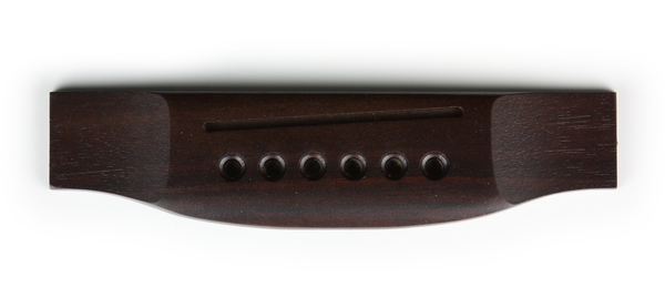 Strukture SSF6XL Acoustic Guitar Bridge in Finished Rosewood - Bananas at Large