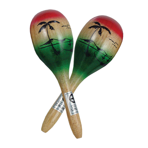 Coda DP-110 Painted Wood Maracas - Bananas At Large®