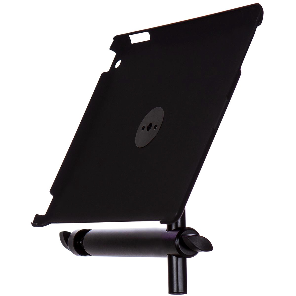 On-Stage TCM9160GM iPad Snap-On Cover With Mounting Bar - Gun Metal - Bananas at Large - 2