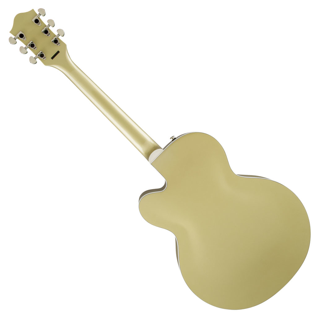 Gretsch G2420T Streamliner Hollow Body with Bigsby and Broad'Tron Pickups - Gold Dust - Bananas at Large - 2