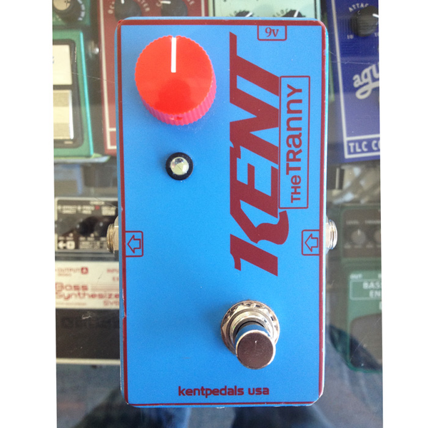 Kent - The Tranny Boost/OD V1 Pedal (Pre-Owned) - Bananas at Large