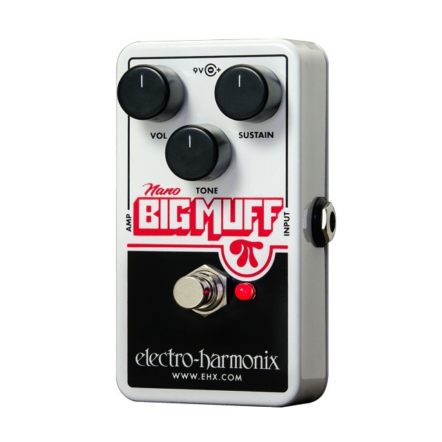 Electro-Harmonix NANOBIGMUFF Guitar Distortion Effects Peda - Bananas At Large®