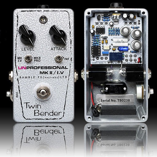 Ramble FX Twin Bender 3 MKII/MK1.5 In One Pedal - Bananas at Large - 3