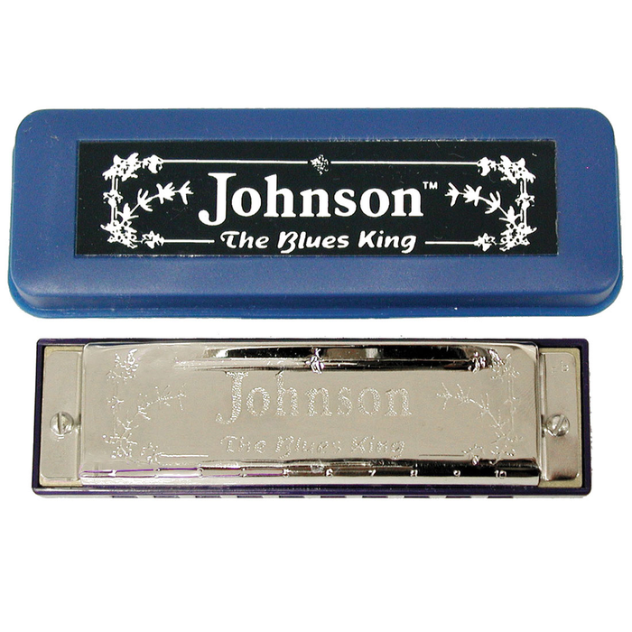 Johnson Blues King Key Of G Harmonica