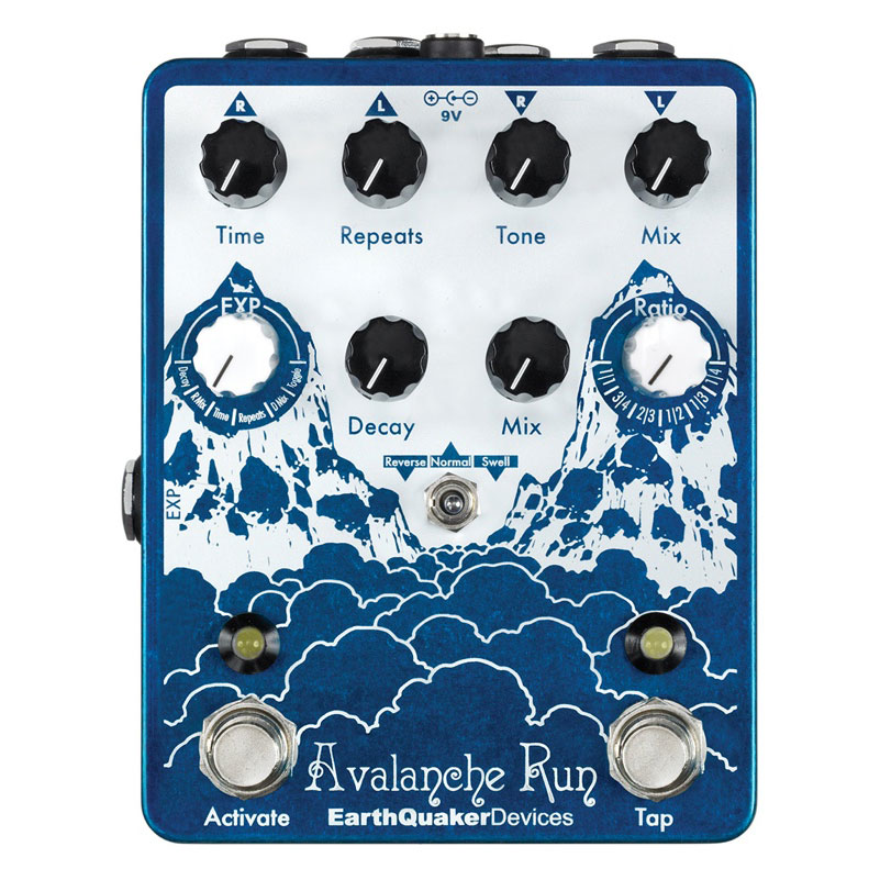 Erathquaker Devices Avalanche Run Delay Reverb with Tap - Bananas at Large
